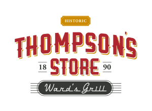 Thompsons Grocery Store Logo